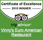 Vinny's Restaurant on Trip Advisor