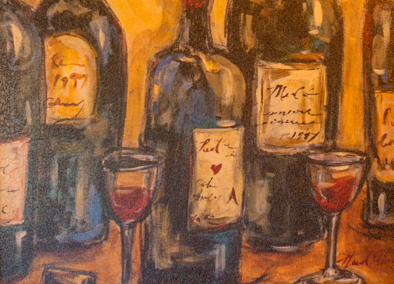 wine-painting